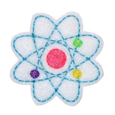 Atom Embroidery File