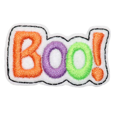 Boo! Embroidery File