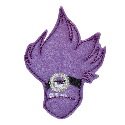 Banana Man Purple 1 Eyed Embroidery File