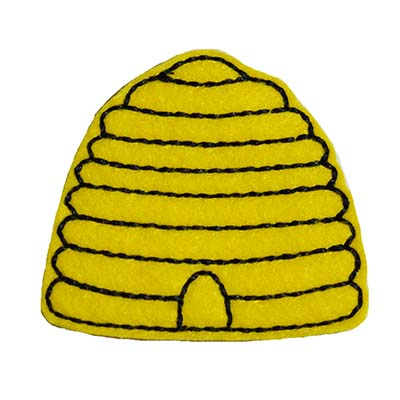 Bee Hive Embroidery File
