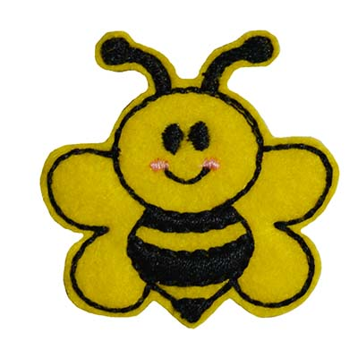Bee Embroidery File
