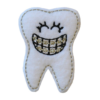 Braelyn the Brace Face Embroidery File