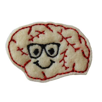 Brody the Brain Embroidery File