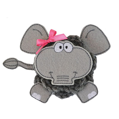 Build A Bow Elephant Embroidery File