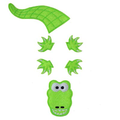 Build A Bow Gator Embroidery File
