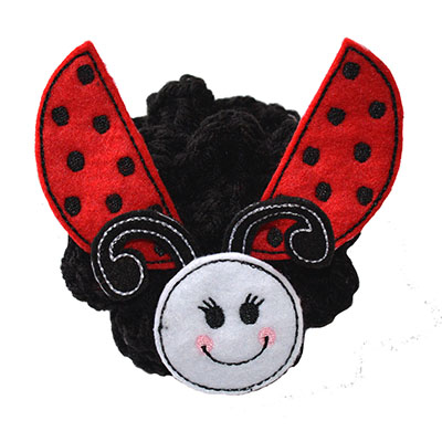 Build A Bow Ladybug Embroidery File