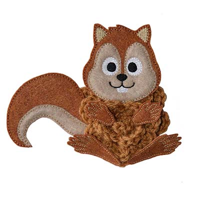 Build A Bow Squirrel Embroidery File