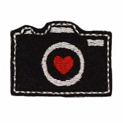 Camera Embroidery File