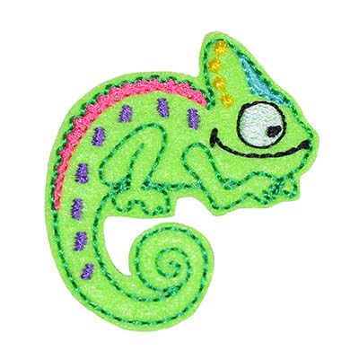 Cami the Chameleon Embroidery File