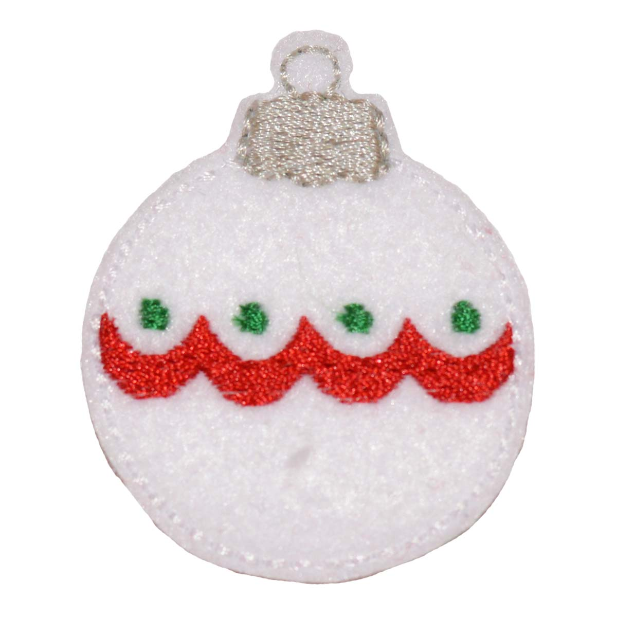 Christmas Ornament Round Embroidery File