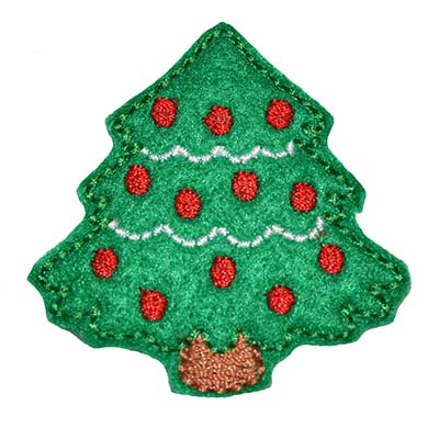 Christmas Tree Embroidery File