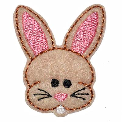 Chubby Easter Bunny Embroidery File