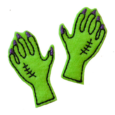 Creepy Hand Embroidery File