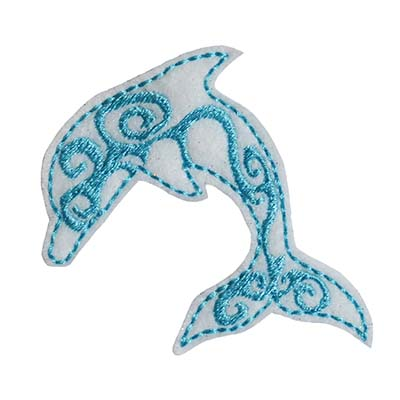 Dolphin Tribal Embroidery File
