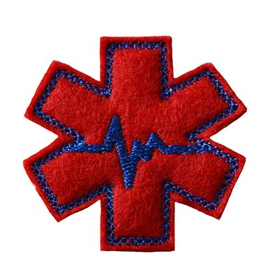 EMT Symbol Embroidery File
