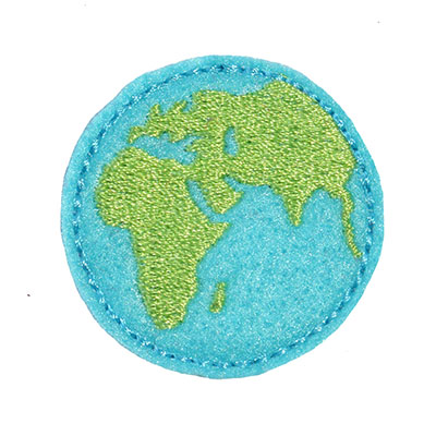 Earth Embroidery File