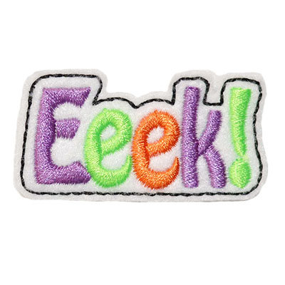 Eeek! Embroidery File