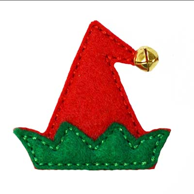 Elf Hat Embroidery File