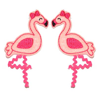 Flamingo Embroidery File