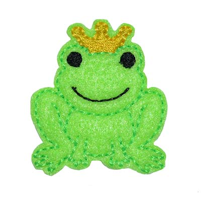 Frog Prince Embroidery File
