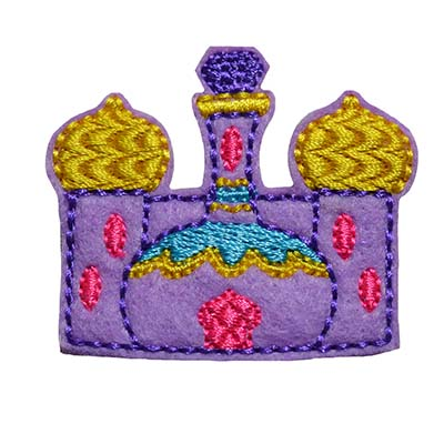 Genie Castle Embroidery File