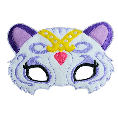 Genie Kitty Mask Embroidery File