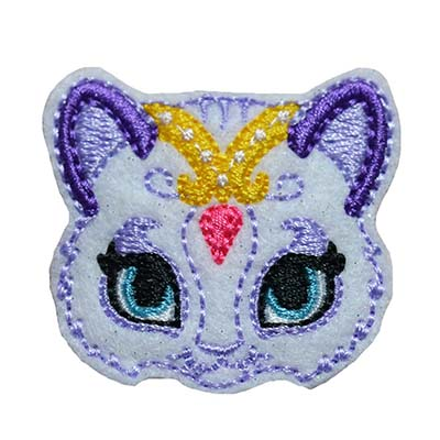Genie Kitty Embroidery File