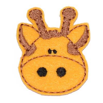 Giraffe Embroidery File