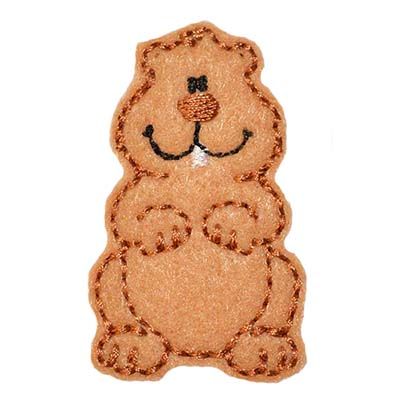 Groundhog Embroidery File