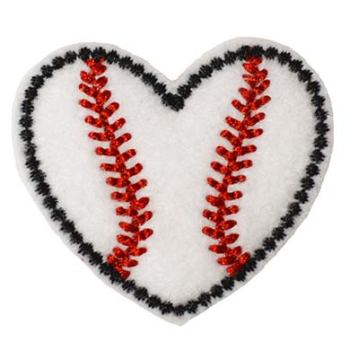 Baseball Heart Embroidery File