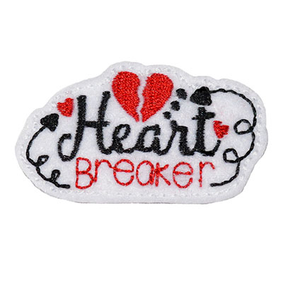 Heart Breaker Embroidery File