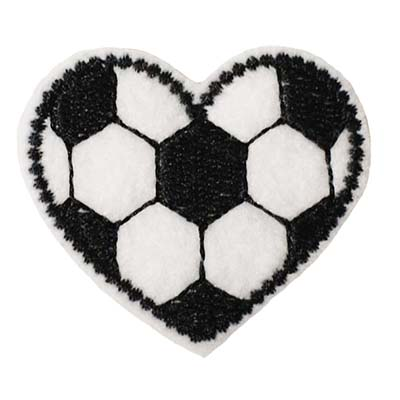 Soccer Heart Embroidery File