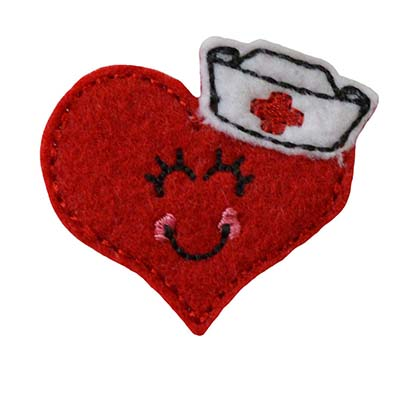 Heidi the Heart Nurse Embroidery File