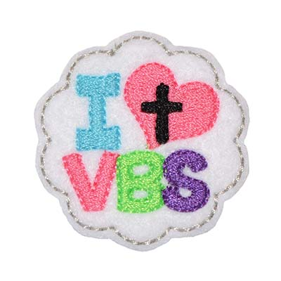 I Heart VBS Embroidery File