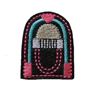 Jukebox Embroidery File