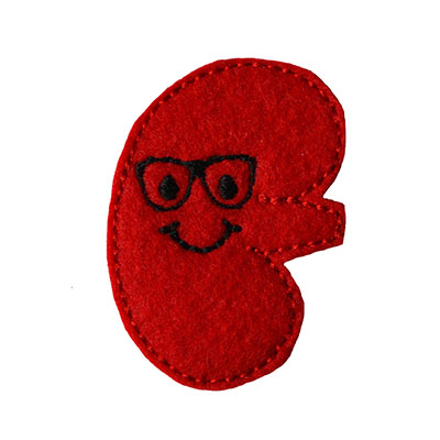 Kenny the Kidney Embroidery File
