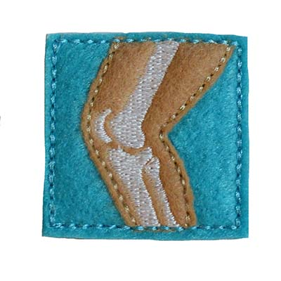 Knee Embroidery File
