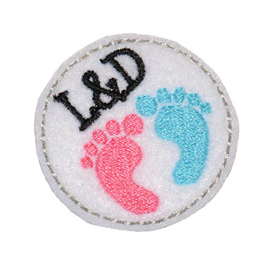L&D Circle Embroidery File