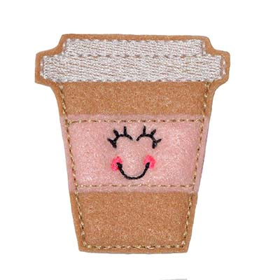 Lisa the Latte Embroidery File