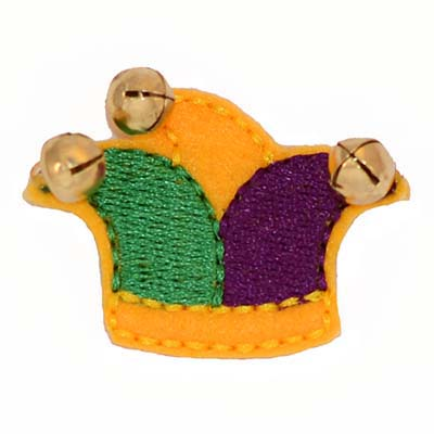 Mardi Gras Jester Hat Embroidery File