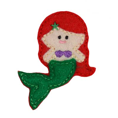 Mermaid Embroidery File