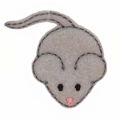 Mouse Embroidery File