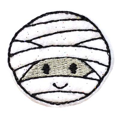 Mummy Embroidery File
