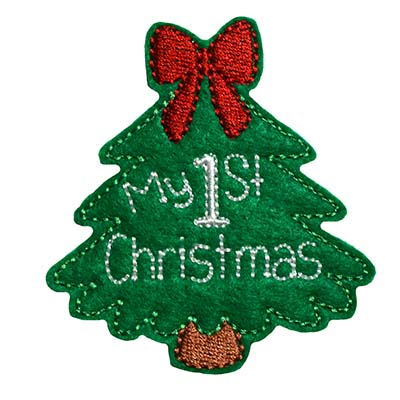 My 1st Christmas Embroidery File