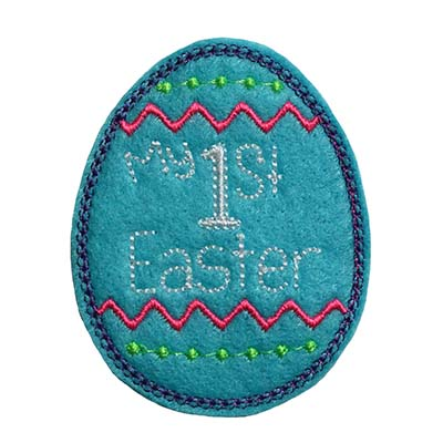 My 1st Easter Embroidery File
