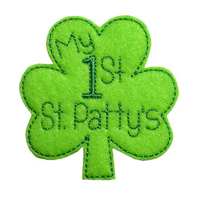 My 1st St Pattys Embroidery File