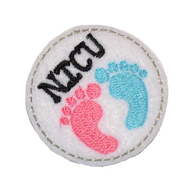 NICU Circle Embroidery File