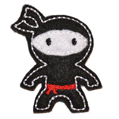 Ninja Embroidery File