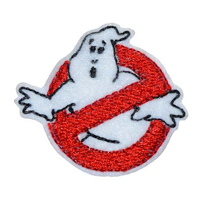No Ghosts Embroidery File