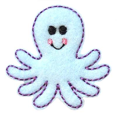 Octopus Embroidery File